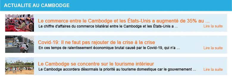 Actualite cambodge semaine 19 2020
