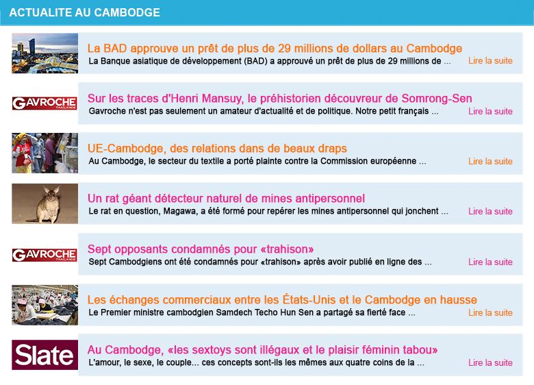 Actualite cambodge semaine 39 2020