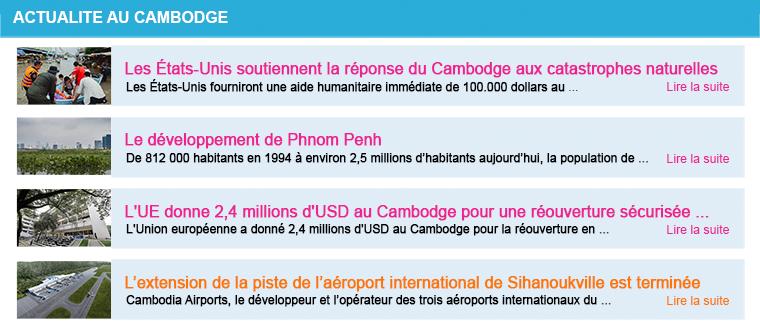 Actualite cambodge semaine 42 2020