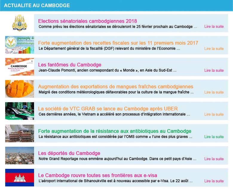 Actualite cambodge semaine 52 2017