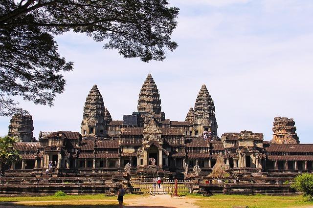 Angkor wat siem reap cambodge nouvel an khmer