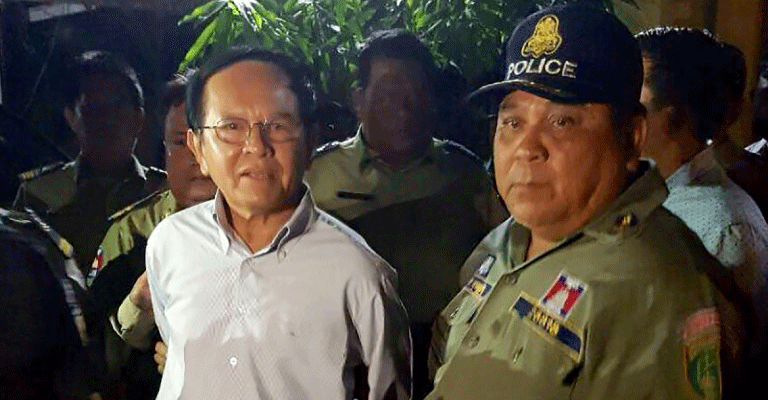 Arrestation kem sokha cambodge