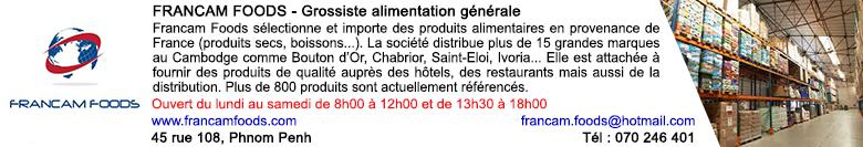 Banner directory francam foods fr