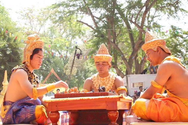 Championnat echec cambodge 1