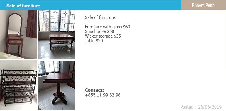 Classified vente de meubles demenagement