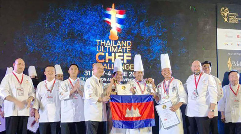 Competition culinaire vainqueur cambodge 1