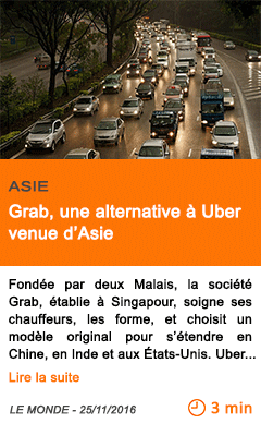 Economie asie grab une alternative a uber venue d asie