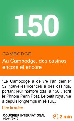Economie au cambodge des casinos encore et encore page001