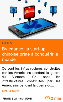 Economie bytedance la start up chinoise prete a conquerir le monde page001