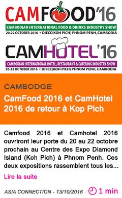 Economie camfood 2016 et camhotel 2016 de retour a kop pich
