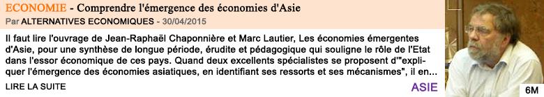 Economie comprendre l emergence des economies d asie