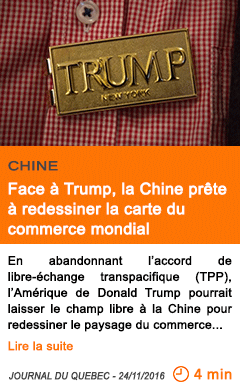 Economie face a trump la chine prete a redessiner la carte du commerce mondial