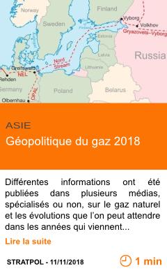 Economie geopolitique du gaz 2018 page001