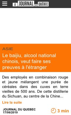 Economie le baijiu alcool national chinois veut faire ses preuves a l etranger page001