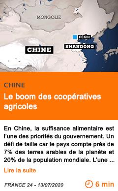 Economie le boom des cooperatives agricoles