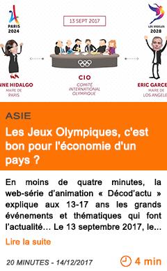 Economie les jeux olympiques c est bon pour l economie d un pays