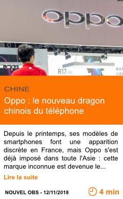 Economie oppo le nouveau dragon chinois du telephone page001