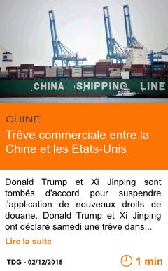 Economie treve commerciale entre la chine et les etats unis page001