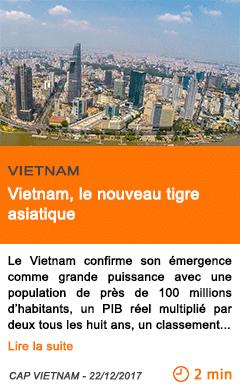 Economie vietnam le nouveau tigre asiatique