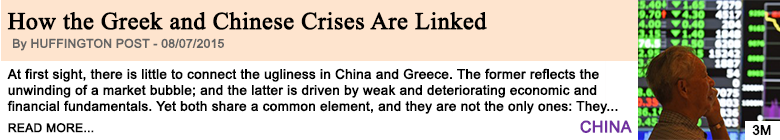 Economy how the greek and chinese crises are linked