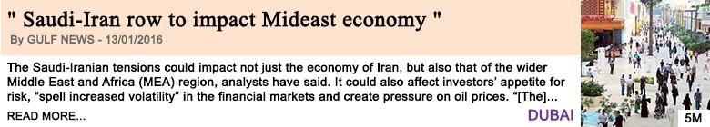 Economy saudi