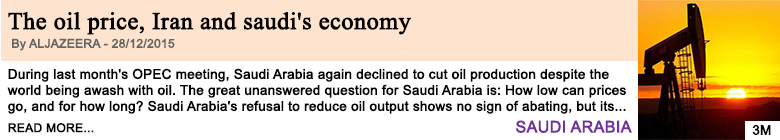 Economy the oil price iran and saudi s economy