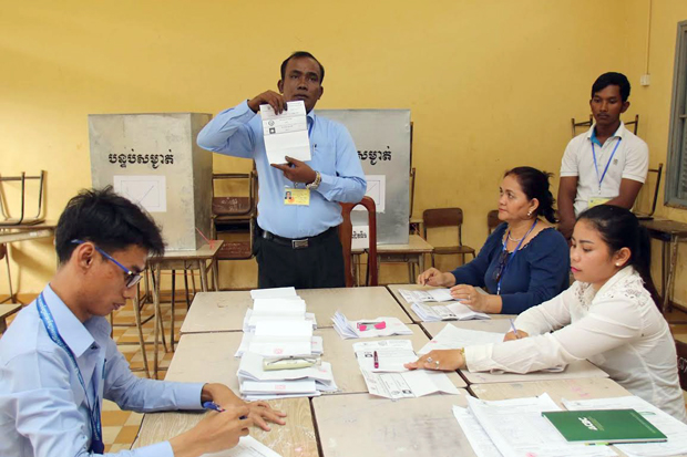 Elections conseillers communaux cambodge 2017
