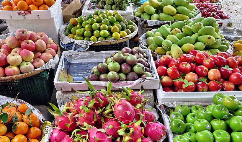 Fruits legumes cambodge pesticide produit chimique 1