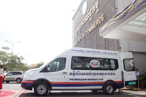 Laboratoire mobile essence cambodge
