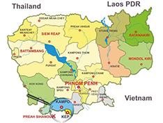 Map cambodia 1
