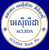 Nouveau logo banque acleda