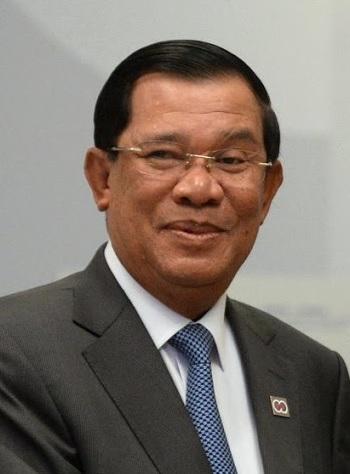 Premier ministre hun sen cambodge