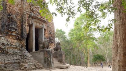 Sambor prei kuk sambo cambodge