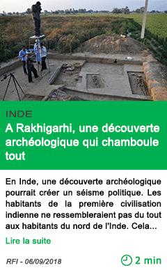 Science a rakhigarhi une decouverte archeologique qui chamboule tout