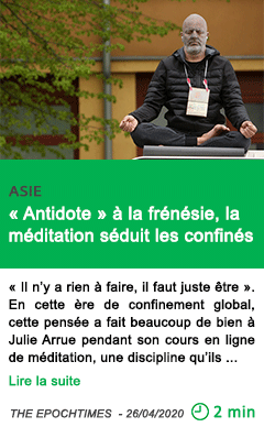 Science antidote a la frenesie la meditation seduit les confines