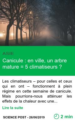 Science canicule en ville un arbre mature 5 climatiseurs page001