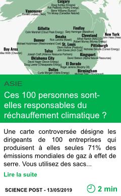 Science ces 100 personnes sont elles responsables du rechauffement climatique page001