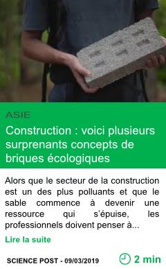 Science construction voici plusieurs surprenants concepts de briques ecologiques page001