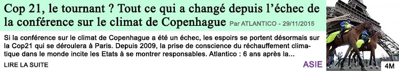 Science cop 21 le tournant tout ce qui a change depuis l echec de la conference sur le climat de copenhague