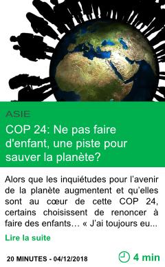 Science cop 24 ne pas faire d enfant une piste pour sauver la planete page001