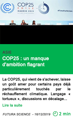 Science cop25 un manque d ambition flagrant