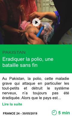 Science eradiquer la polio une bataille sans fin page001