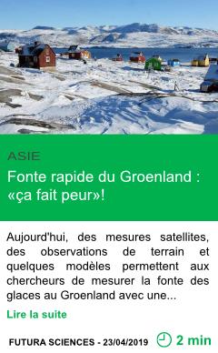 Science fonte rapide du groenland ca fait peur page001