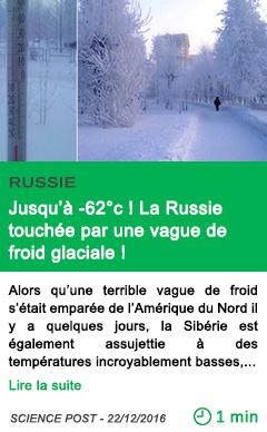 Science jusqu a 62 c la russie touchee par une vague de froid glaciale