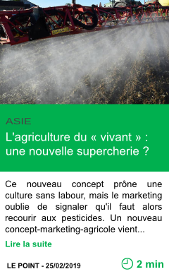 Science l agriculture du vivant une nouvelle supercherie page001