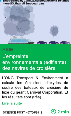 Science l empreinte environnementale edifiante des navires de croisiere page001