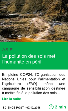 Science la pollution des sols met l humanite en peril page001