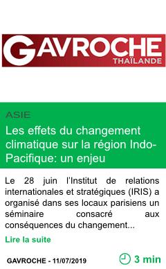 Science les effets du changement climatique sur la region indo pacifique un enjeu strategique page001