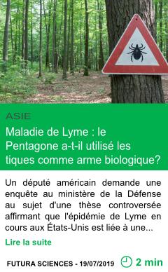 Science maladie de lyme le pentagone a t il utilise les tiques comme arme biologique page001