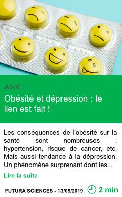 Science obesite et depression le lien est fait page001